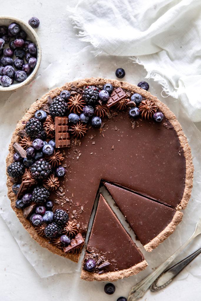 Tart tray 3 chocolates